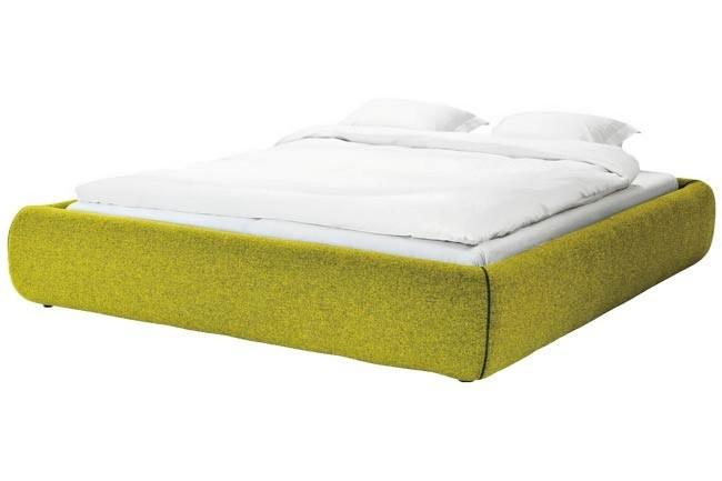 Grimen By Magnus Eleback, from [IKEA](http://www.ikea.com/au/en/preindex.html). The wool cover brings a burst of colour to the bedroom.