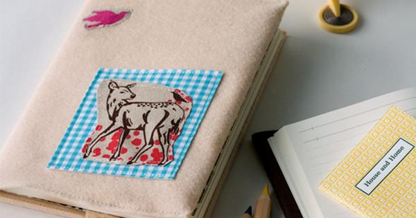 how to make felt notebook covers homelife