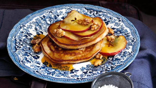 1\. Keep it sweet with [ricotta pancakes with maple-glazed apples](http://www.homelife.com.au/recipes/desserts/ricotta-pancakes-with-maple-glazed-apples).