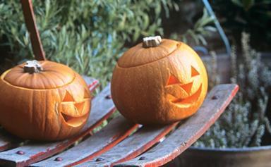 How to make a Halloween Jack-o'-lantern