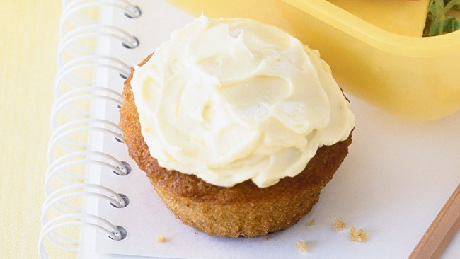 Indulge in the cream of the (banana) crop with these [mini banana muffins with cream-cheese icing](http://www.homelife.com.au/recipes/desserts/mini-banana-muffins-with-cream-cheese-icing). Light, fluffy and easy.