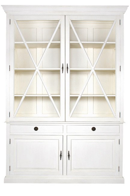 **Country kitchen** | '_Malval_' buffet and hutch in Antique White, from [La Maison](http://www.lamaison.net.au/).
