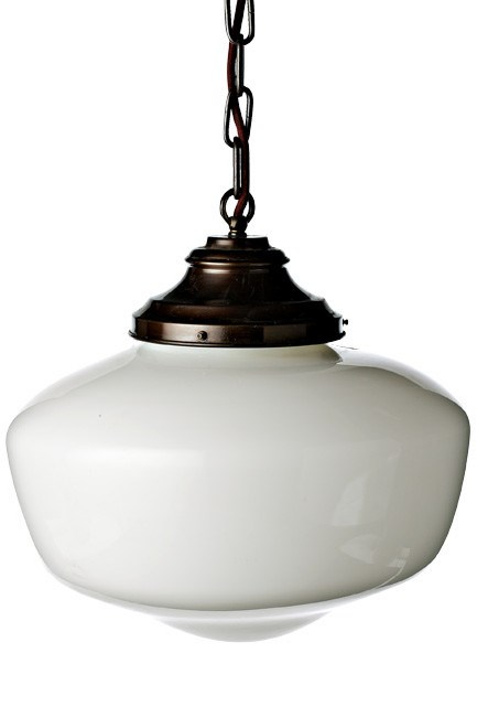 **Country kitchen** | American schoolhouse pendant light 350mm, from [Chippendale Resorations](http://www.chippendalerestorations.com.au/).