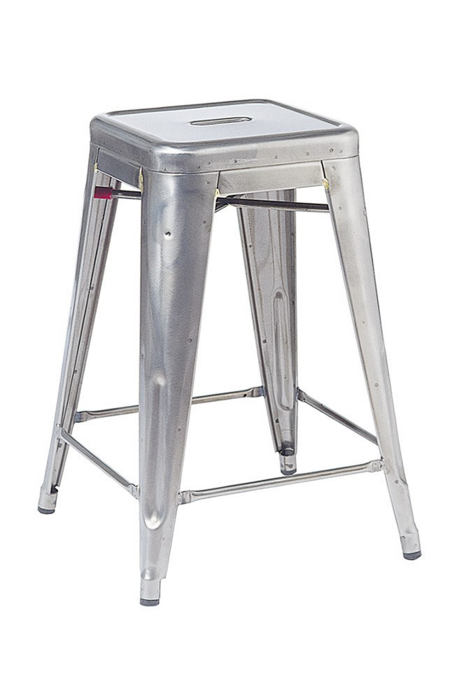 **Country kitchen** | Tolix '_Tabouret 75_' stool in Brut Verni, from [Thonet](http://www.thonet.com.au).