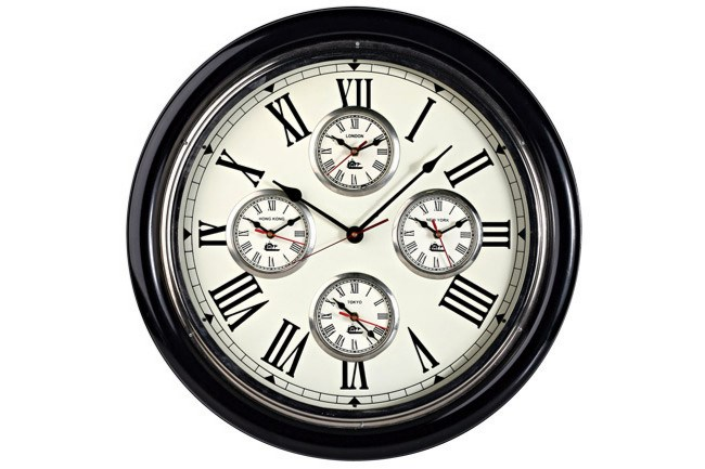**Country kitchen** | '_World clock_' from [La Maison](http://www.lamaison.net.au/).