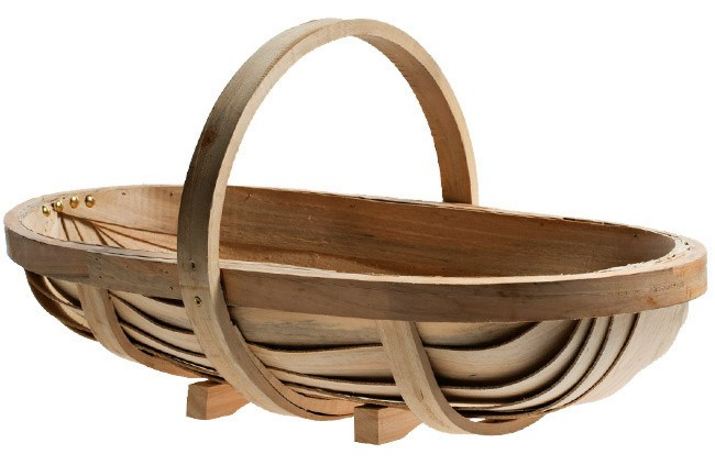 **Country kitchen** | Burgon & Ball trug, from [The Bay Tree](http://www.thebaytree.com.au/).