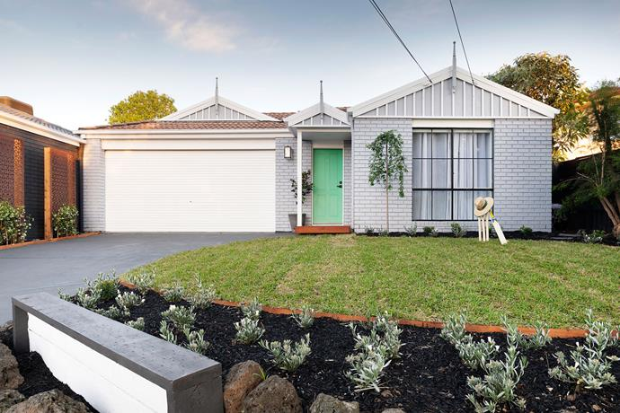 After: A lick of paint and  garden refresh can transform your homefront.