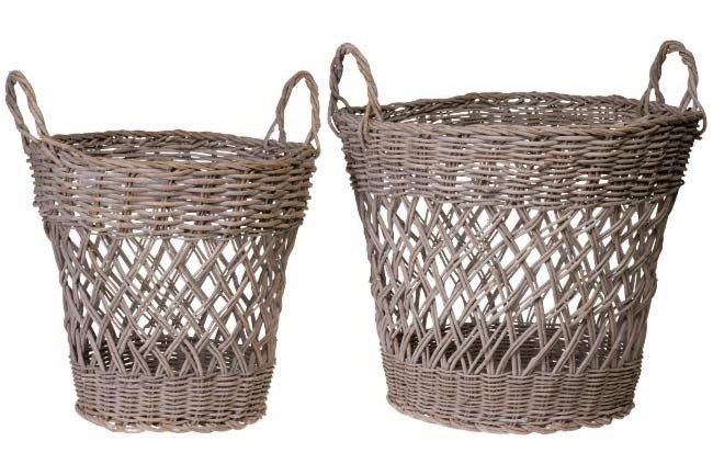 Rattan baskets, both from [Perfect Pieces](http://www.perfectpieces.com.au/).