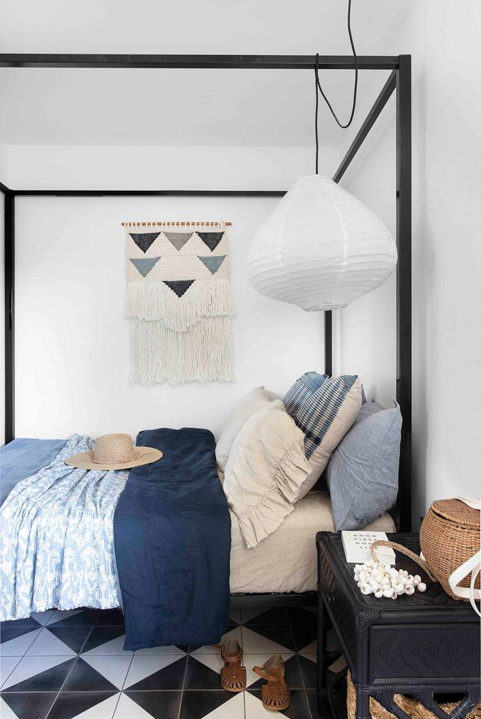 The children's modest-sized bedrooms are furnished simply, yet stylishly, as places to sleep.
