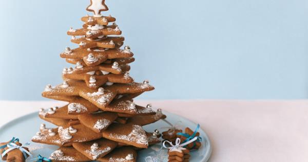 gingerbread christmas tree homelife - Gingerbread Christmas Tree