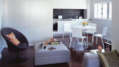 Inner-city apartment transformation