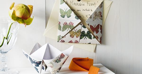 How To Make A Chatterbox Invitation Homelife