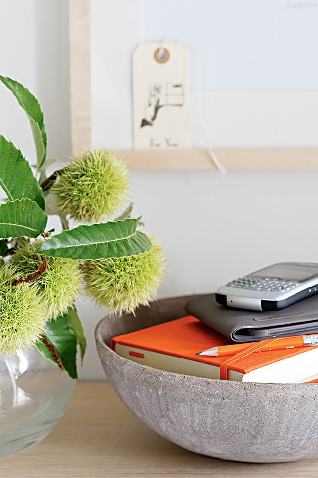 8. Trinket dish. Often foyers are landing spots for important items, so a dish big enough to hold your phone, keys, sunglasses and other smaller items will help to avoid lost property.   Photo: Sam McAdam-Cooper