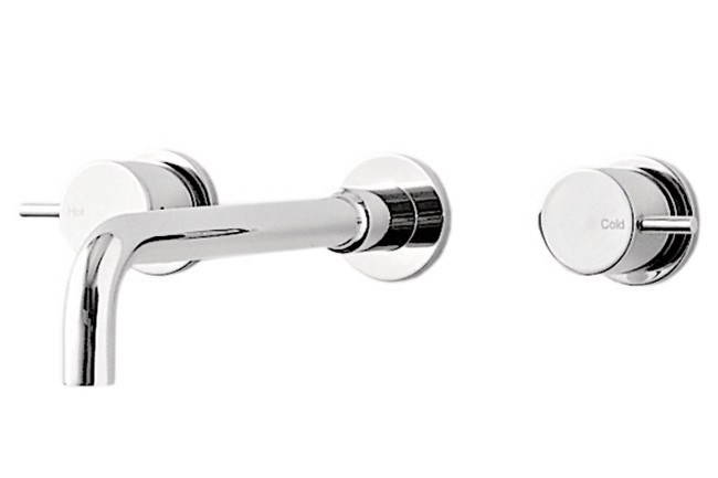 **Bath or basin set** | Logic wall basin outlet with tap, from [Rogerseller](http://www.rogerseller.com.au/bathroom/tapware/gas/wall-top-assembly.aspx).  _Image courtesy of supplier._