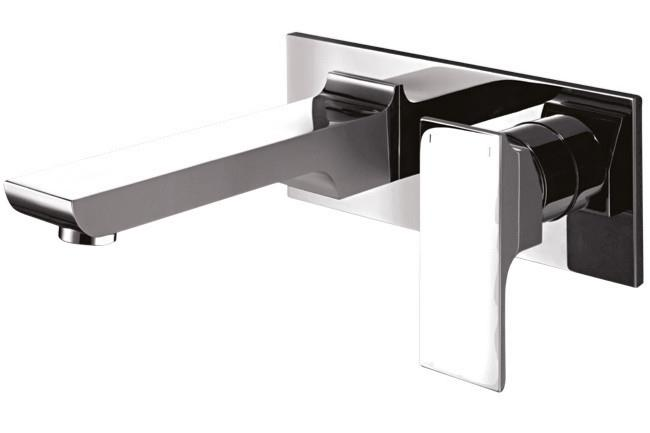 **Bath tap and mixer |** 'Jovian' wall basin mixer, from [dorf](http://www.dorf.com.au/).  _Image courtesy of supplier._