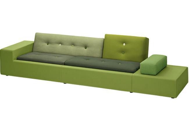"**Hella Jongerius** | Vitra 'Polder' sofa, from [Unifor](http://www.unifor.it/|target=""_blank""|rel=""nofollow"")."