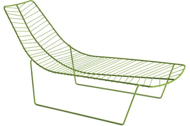 "**Lievore Altherr Molina** | Arper 'Leaf' outdoor chaise, from [Stylecraft](http://www.stylecraft.com.au/|target=""_blank""|rel=""nofollow"")."