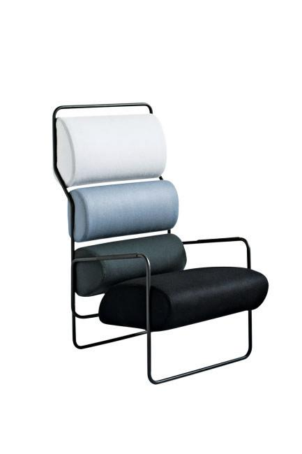 "Tacchini 'SanCarlo' by Achille Castiglioni, from [Stylecraft](https://www.stylecraft.com.au/product/sancarlo-armchair|target=""_blank""