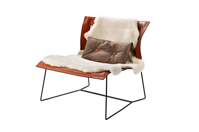 "Walter Knoll 'Cuoio' by Eoos, from [Living Edge](https://livingedge.com.au/products/cuoio-lounge-chair|target=""_blank""