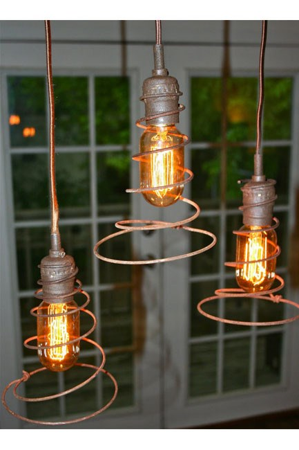 Bed Springs Eternal by Urbanhardware.     [   ](http://www.etsy.com/listing/63217466/hanging-lamp-lampshade?ref=cat2_gallery_6)