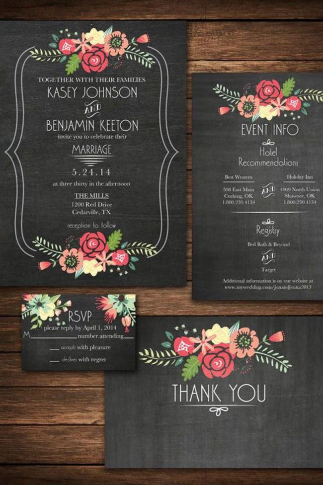 From [Wedding Paper Divas](http://www.weddingpaperdivas.com/product/11752/signature_white_wedding_invitations_chalkboard_floral.html)