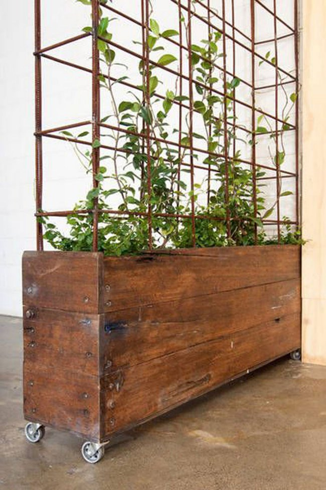 Planter available from [Bangs Boutique](http://bangsboutique.com.au/custom-wood-steel-planters/), aMelbourne-based bespoke furniture store