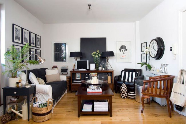 High end house swap hub, [Love Home Swap](http://www.lovehomeswap.com/), takes us on a tour of their favourite small spaces (which are also available to rent). Pictured is a two-bedroom apartment in Dublin, Ireland, owned by ........