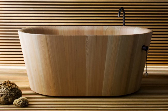 **Ofuro Wooden Bath by Matteo Thun**  Inspired by the Japanese bath that serves as a treat to [relax](http://www.homelife.com.au/homes/bathroom/serene+bathroom+makeover,4512) and recuperate from the daily routine, this devine wooden bath has been created with a European form.  Ofuro Wooden Bath by Matteo Thun, $17078, [Rapsel](http://www.matteothun.com/index.php?/product-design/rapsel-vasca-ofuro-/)