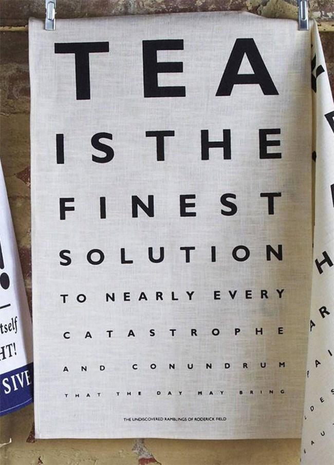 Tea Eye Test tea towel design by Ulster Weavers, [notonthehighstreet.com](http://www.notonthehighstreet.com/ulsterweavers/product/tea-eye-test-linen-tea-towel)