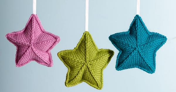 How To Knit Star Ornaments Homelife