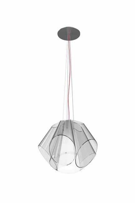**Crystal clear**  The Established & Sons 'Super Conic' light by [Matali Crasset](http://www.establishedandsons.com).  Words: David Harrison | Photo: David Harrison