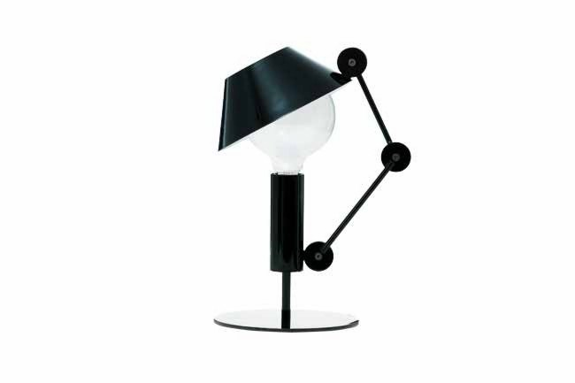 **Hats off**  Cassina's lighting group, [Nemo](http://www.nemo.cassina.it), presented the cheeky 'Mr Light' – a table lamp with an adjustable hat-like shade.  Words: David Harrison | Photo: David Harrison