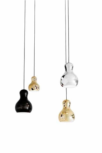**Gold rush**  Gold and glitter were found at Danish lighting company [Lightyears](http://www.lightyears.dk)' stand with Komplot Design's new 'Calabash' pendant.  Words: David Harrison | Photo: David Harrison