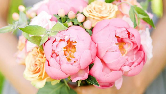Ah, the peony. Is there a lovelier, more beloved flower? With its delicate layers and ultra-feminine bloom, the peony is truly a sight to behold. Its limited season (in Australia, peonies are only available in November) makes the flowers even more coveted, with many brides even planning their weddings around peony season.