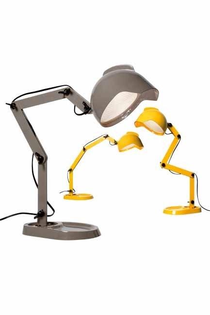 **Futuristic forms**  While at [Diesel](/cms/diesel.foscarini.com) with Foscarini, the 'Duii' lamp had a droid-like feel.  Words: David Harrison | Photo: David Harrison