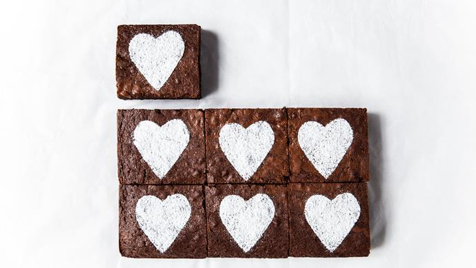 [Bake sweetheart brownies.](http://www.homelife.com.au/recipes/desserts/chocolate-brownies-2)