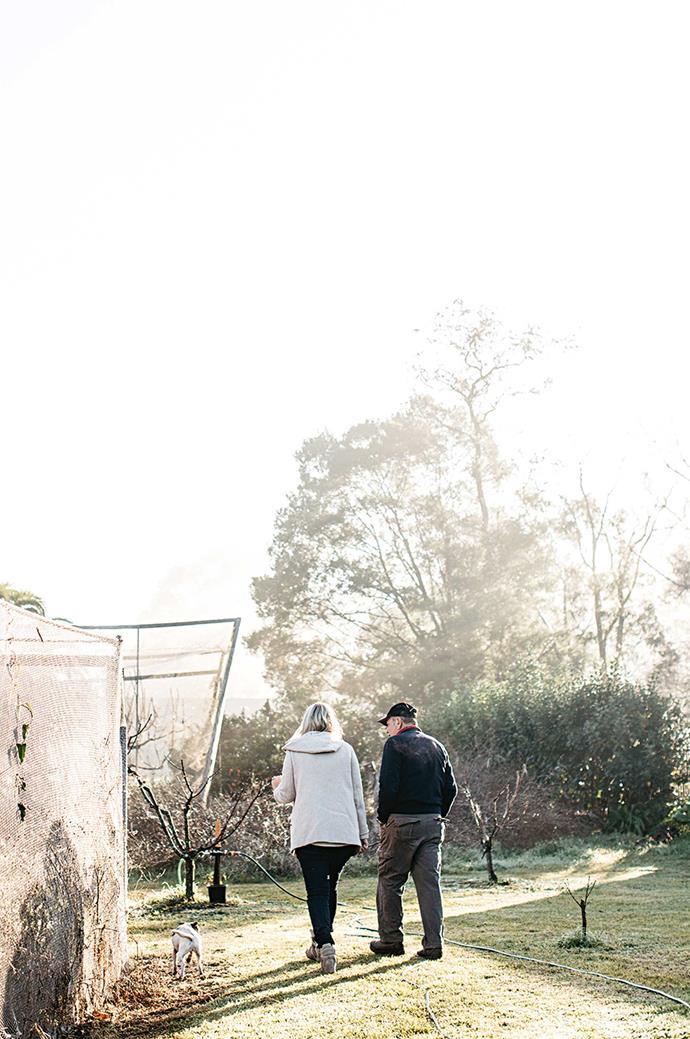 A visit to Domenico Mazzacuva's flower farm.
