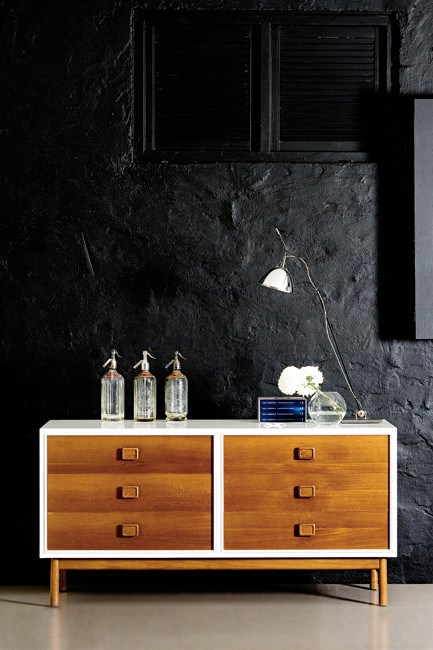 Salvage a [sideboard](http://www.homelife.com.au/home+ideas/decorating/how+to+decorate+a+sideboard,14055) from the outside in.