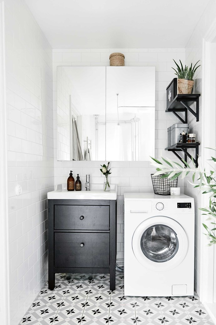 6. Paint it white. Light colours expand a space, while dark colours contract it, so it makes sense to stick with fairer hues on the larger surfaces of a small home. Use white for walls, floors and ceilings to make the most of the natural light and help a poky apartment to feel bright and airy.