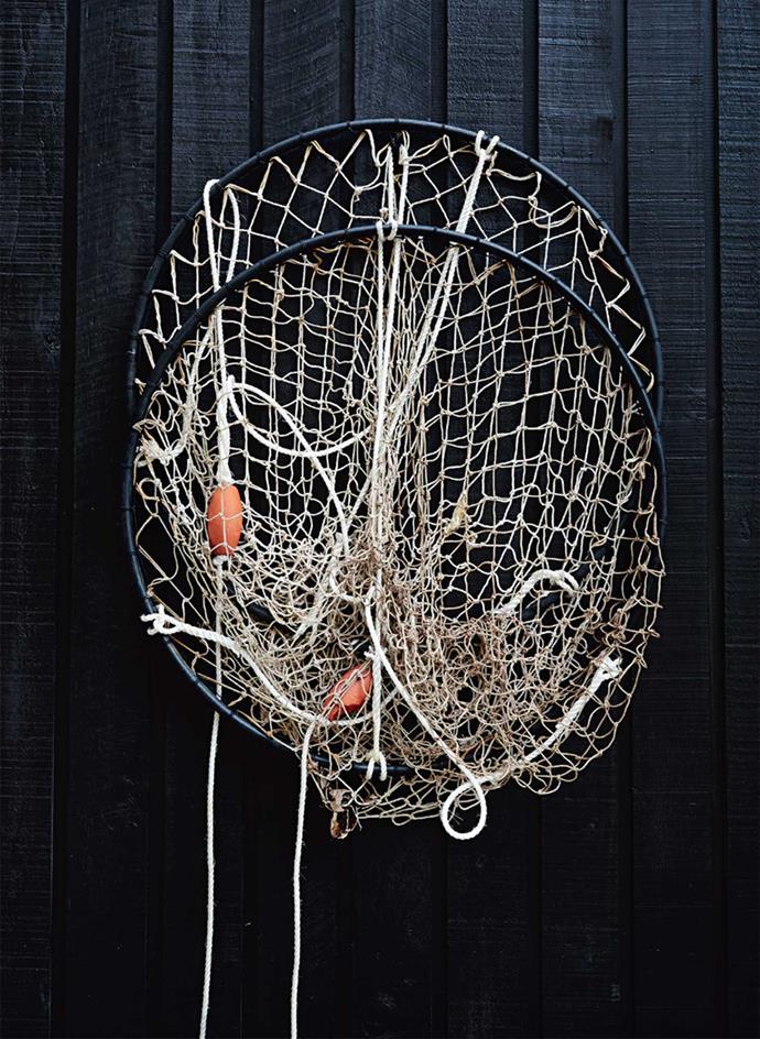 Fishing nets get regular use.
