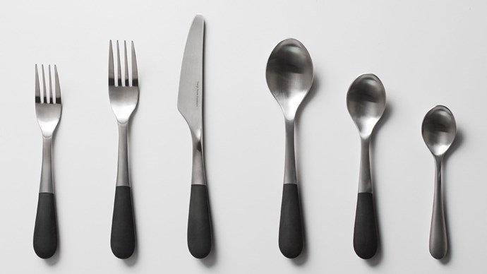 These matte black-dipped designs are just crying out to be held. Design House Stockholm Cutlery, $68.45 for a 2-piece set, [houseology.com](https://www.houseology.com/design-house-stockholm-cutlery).
