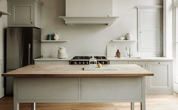 10. Workhorse Islands.  Kitchen islands are having a major moment. With deep storage, prep sinks, room for seating, plus providing additional workspace, they are becoming the central feature in modern kitchens. Photo by Remodelista