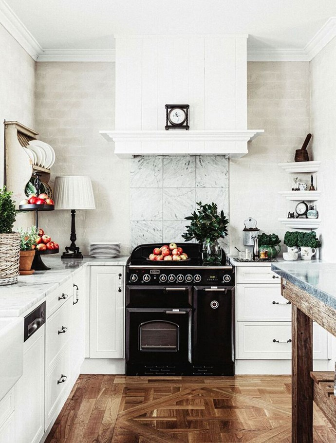 2. Hidden gems. While open-plan kitchens have been trending for many years, we also we also want to be able to hide a little bit of mess. Enter butler's pantries behind the main kitchen and extra hidden counter space. Photo by Melissa Penfold