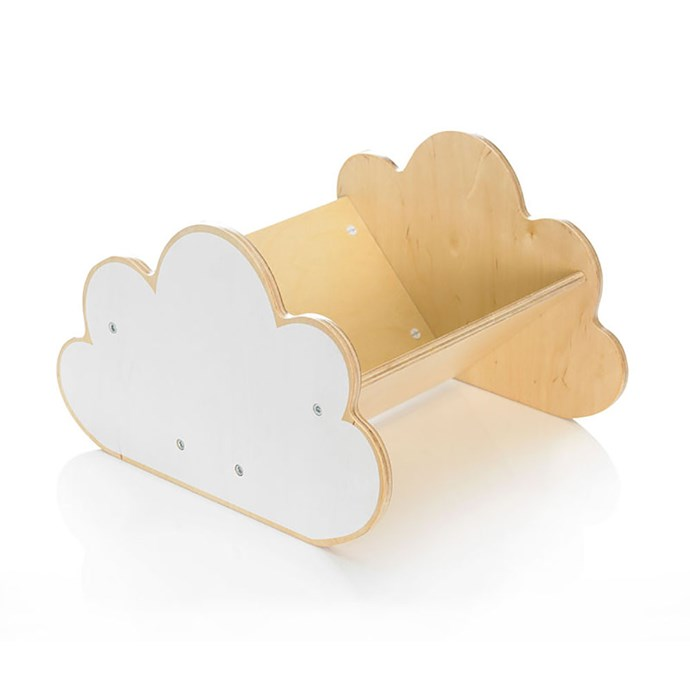 Children's portable bookshelves would make a fine home for an maidenhair fern - whether for the little one's room or yours! My Escape Cloud Book Case, $50, available at [Top3 By Design](http://top3.com.au/categories/baby-and-child/book-cases---kids/my-escape-book-case/jrbc2).