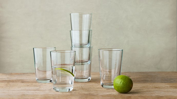Forget snobbery and go for style and enjoyment. Ikea 365+ glasses, $1.99 each, [ikea.com](http://www.ikea.com/). Gallery by [Melissa Penfold](http://www.melissapenfold.com/)