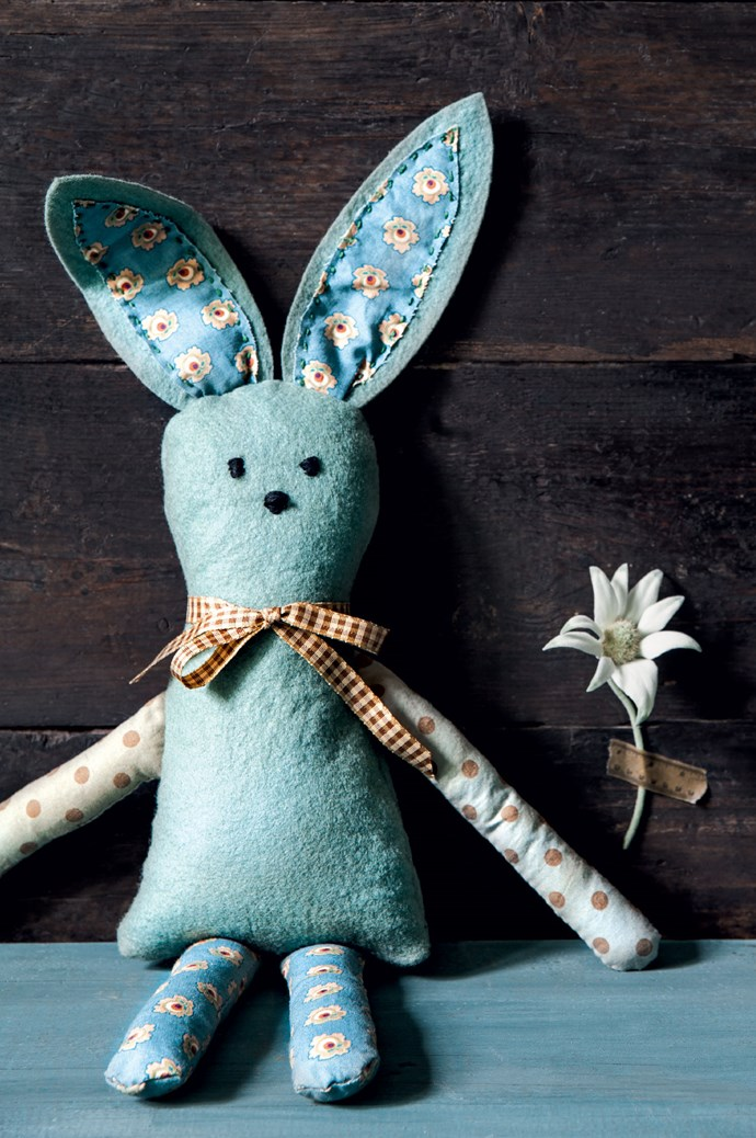 [Sew a bunny.](http://www.homelife.com.au/craft-diy/knitting-sewing/how-to-sew-a-bunny-toy) A sweet project for a small person - though they'll need a bit of sewing know-how!