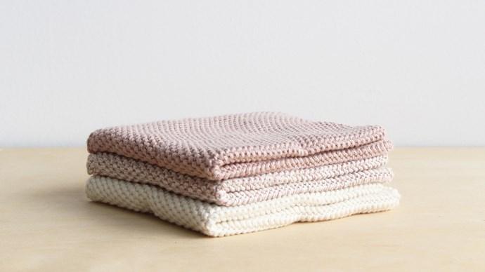 Bianca Loren knitted cloth set, $28, from fatherrabbit.com