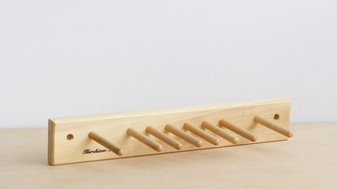 Murchison Hume brush rack, $20, from fatherrabbit.com