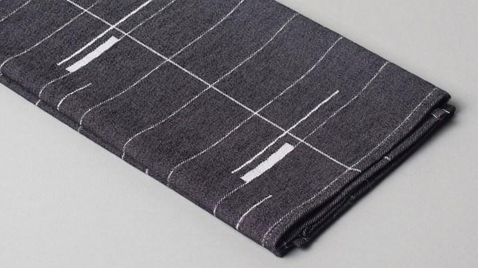 Mae Englegeer Mod tea towel in black, $25, from lightly.com.au