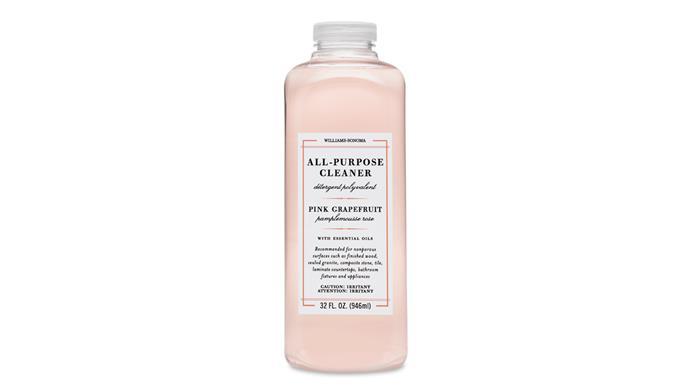 "All-Purpose Cleaner in Pink Grapefruit, $22, [Williams Somona](https://www.williams-sonoma.com.au/williams-sonoma-essential-oils-cleaner-pink-grapefruit target=""_blank"" rel=""nofollow"")"